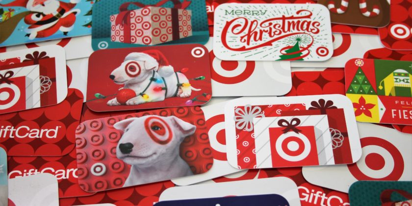 Target Gift Card Sale on Sunday