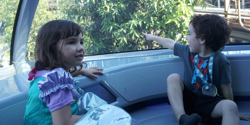 Disney Quick Tip: Sit up Front on the Monorail