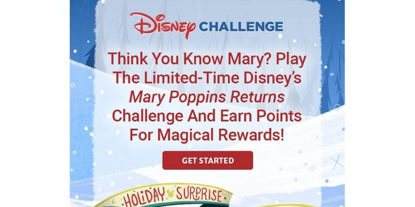 One More Disney Challenge for DMR's Holiday Surprise Spectacular (Dead)