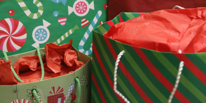Cut Back on the Holiday Madness: Reuse Gift Bags