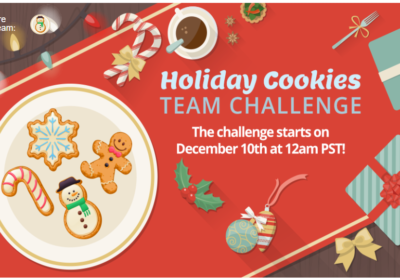 Holiday Cookies Team Challenge