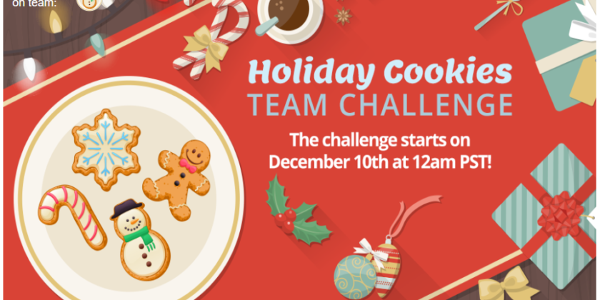 Holiday Cookies Team Challenge Is Over