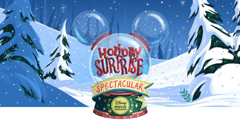 Disney Movie Rewards Presents Holiday Surprise Spectacular