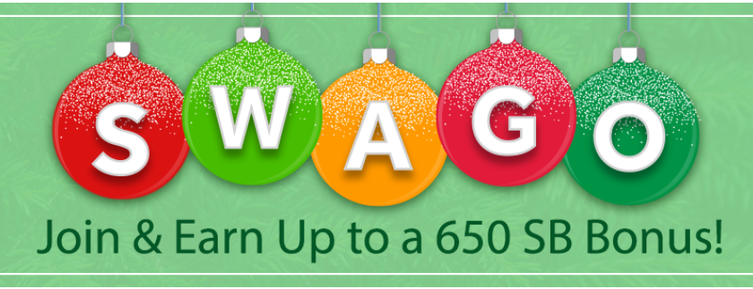 Swago Holiday Edition with Spin & Win Is Over