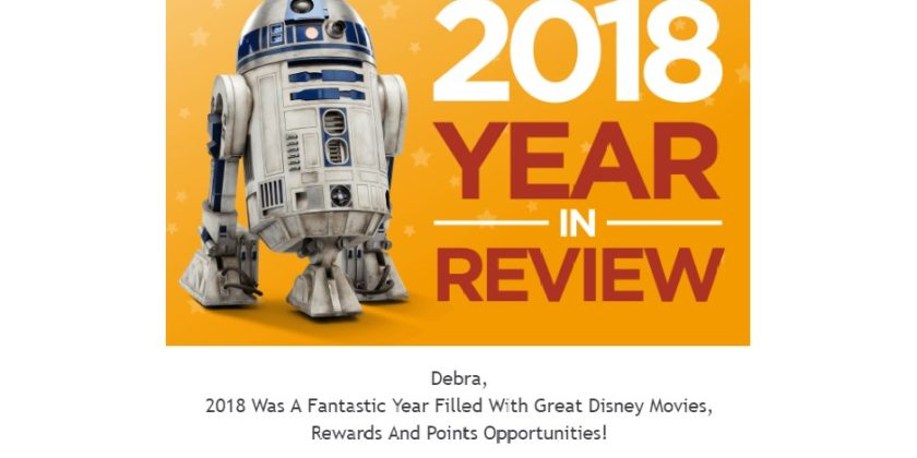 Happy New Year from Disney Movie Rewards