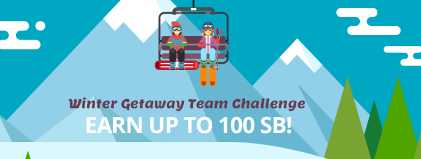 Winter Getaway Team Challenge