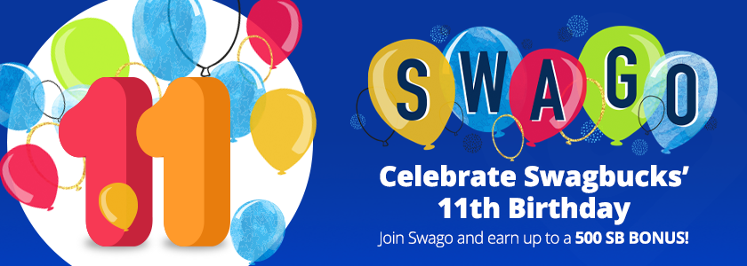 Update on Birthday Swago