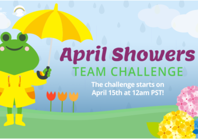 April Showers Team Challenge