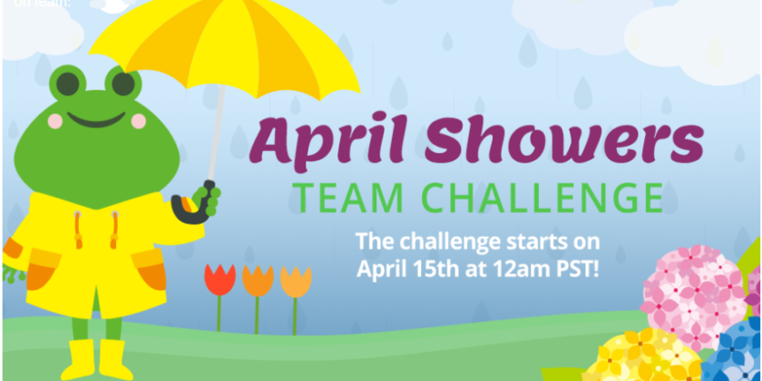 April Showers Team Challenge