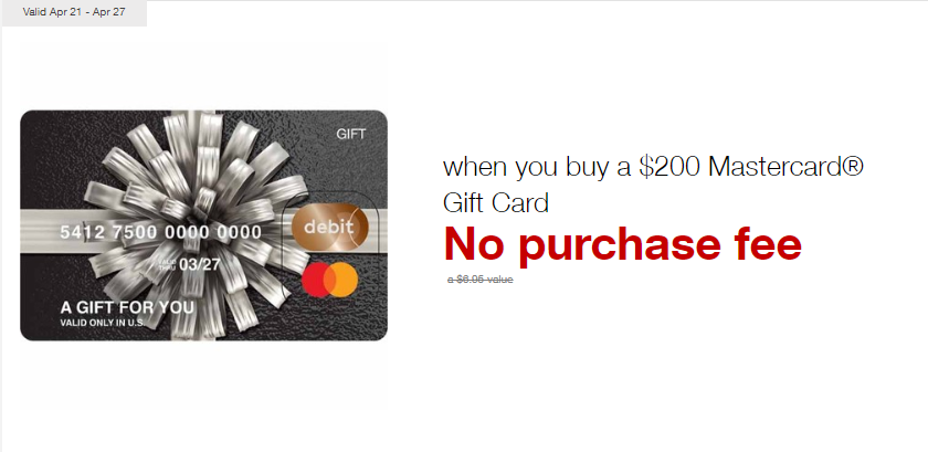 Fee-Free MasterCards at Staples