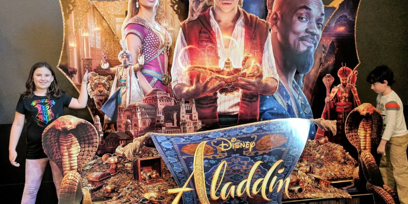 Aladdin Is Coming!
