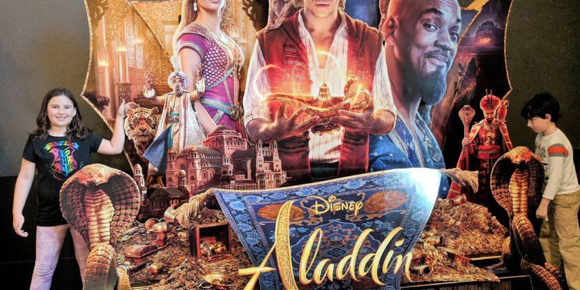 Aladdin Is Coming!