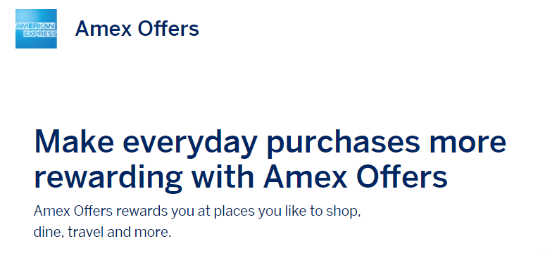 Amex Offers: Save at Staples