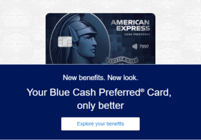 Updates To Amex Blue Cash Preferred