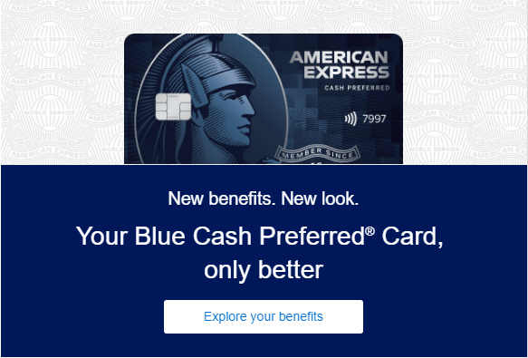 Updates To Amex Blue Cash Preferred