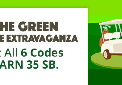 On the Green Swag Code Extravaganza