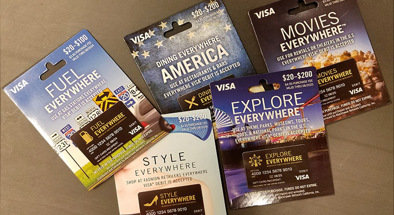 "Visa ""Everywhere"" Cards on Sale at OfficeMax"