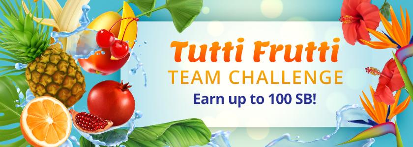 Tutti Frutti Team Challenge