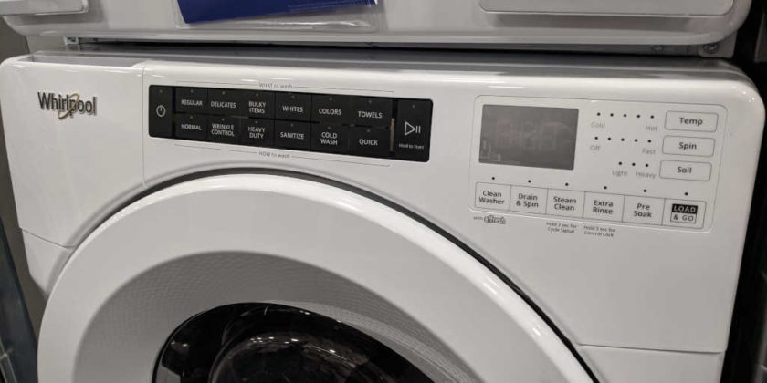 How We Saved Almost $350 on Our New Washer