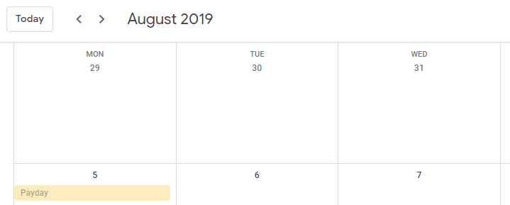 End of the Month, August Edition