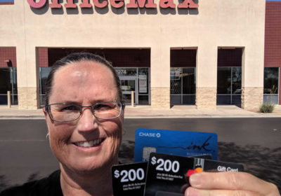Get $15 Off $300 MasterCard Gift Cards at OfficeMax