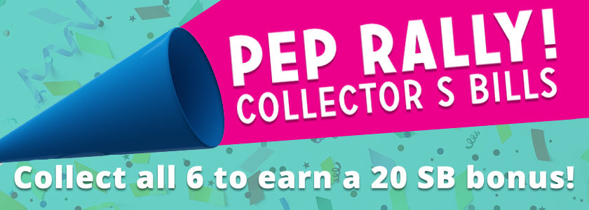 [Expired] Swagbucks Pep Rally Collector's Bills
