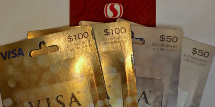 Visa Gift Cards on Sale at Safeway