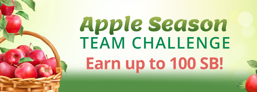 [Expired] Apple Season Team Challenge