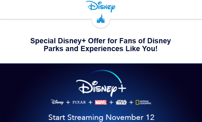 New Disney+ Offer Rolls Out To More Disney Fans
