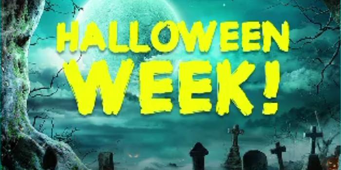 Halloween Week on Swagbucks LIVE