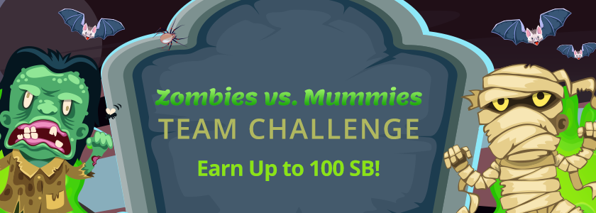 [Expired] Zombies vs. Mummies Team Challenge