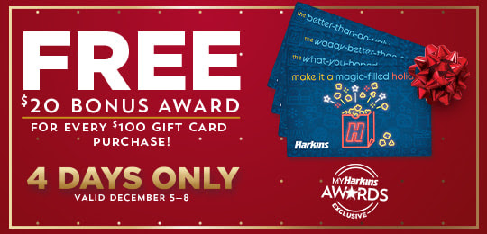 Harkins Gift Card Sale
