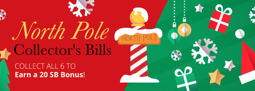 [Expired] North Pole Collector's Bills