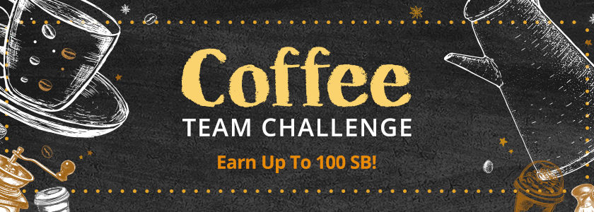 [Expired] Coffee Team Challenge