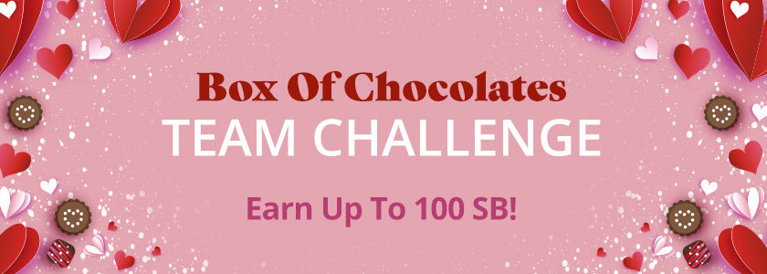 Box of Chocolates Team Challenge
