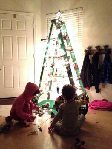 2013 Ladder Tree Xmas
