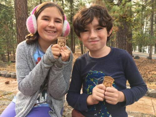 Lassen Junior Ranger Badges